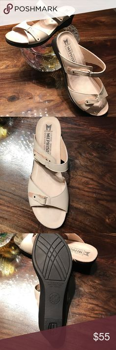 Mephisto Sandals Air Relax genuine leather sandals Brand new Mephisto Walking sandal, air relax made in Portugal. These shoes are wonderful and so comfortable! Shock absorber sole. Mephisto Shoes Sandals