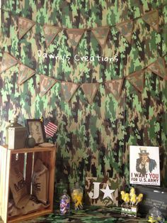 Military VBS on Pinterest   Army Party, Army Birthday Parties and ...