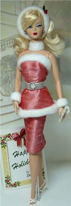 Happy Holidays if I had the money I would be a Barbie collector