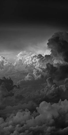 Gray Aesthetic, Black Aesthetic Wallpaper, Black And White Aesthetic, Aesthetic Backgrounds, Aesthetic Collage, Black And White Clouds, Black And White Picture Wall, Black And White Pictures, Black White