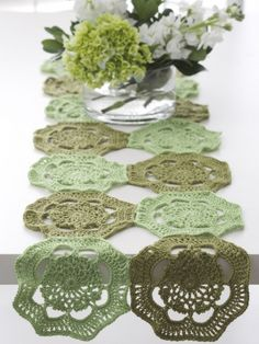 Doily - 3 Ways | Yarn | Free Knitting Patterns | Crochet Patterns | Yarnspirations BM 2014 Project