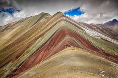 The Rainbow Mountain by flaviointi22 #nature #mothernature #travel #traveling #vacation #visiting #trip #holiday #tourism #tourist #photooftheday #amazing #picoftheday