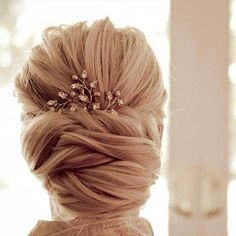Braided Bridal Updo  10 Beautiful Bridal Updos
