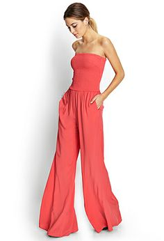 Retro Doll Flared Jumpsuit | FOREVER 21 - 2000071635