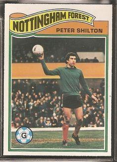 TOPPS-FOOTBALL ERS ORANGE BACK 1978-#025- NOTTINGHAM FOREST - PETER SHILTON