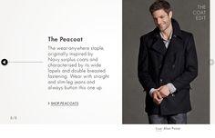 Amazon.co.uk: The Coat Edit for Men: Clothing