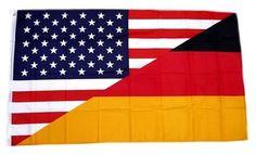 """Tolle Fanartikel zur Fußball-WM 2014, wie """"Fahne / Flagge Deutschland / USA NEU 90 x 150 cm"""" jetzt erhältlich: http://fussball-fanartikel.einfach-kaufen.net/flaggen-wimpel/fahne-flagge-deutschland-usa-neu-90-x-150-cm/"""
