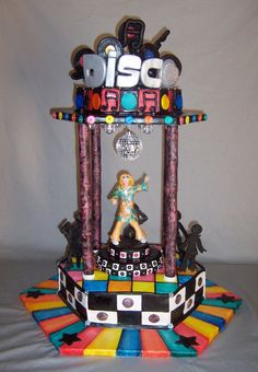 Disco Cake With Flashing Lights