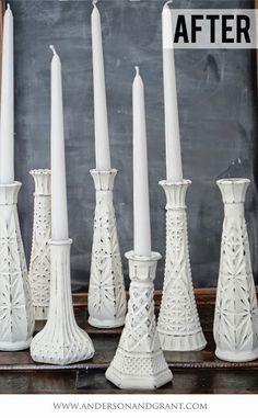Wednesday Redo: Thrift Store Vases
