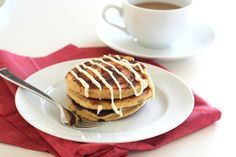 Cinnamon Roll Pancakes (Low carb, Gluten Free)
