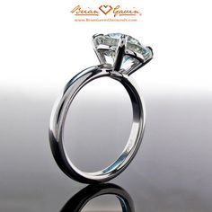 The Grace Solitaire Engagement Ring | Brian Gavin Diamonds™ My beautiful ring! <3