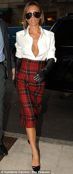 IF I were to do Tartan plaid, it would be as such - however, with an awesome corset belt. That's only IF though...