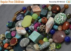 SUMMER SALE 25% OFF Large Assortment of Beads Grab Bag by soyon