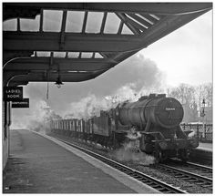 Clanking through Kings Norton Buses And Trains, Old Trains, Diesel Locomotive, Steam Locomotive, Train Pictures, Old Pictures, Barrow Hill, Camp Hill, Steam Railway