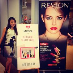 """@mivvabeauty's photo: """"At #Revlon Super Lustrous Lipstick event now! ️ #MIVVA"""""""