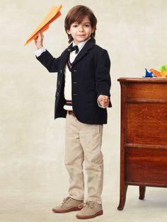Calvin Klein Boys Navy Husky Fit Blazer - Boy's Blazers | Men's ...