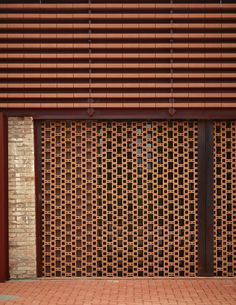 Italian architect Pietro Carlo Pellegrini has reimagined an early century industrial brick complex once home to a brick manufacturing plant. Tropical Architecture, Brick Architecture, Architecture Details, Brick Design, Facade Design, Exterior Design, Brick Masonry, Brick Facade, Brick Wall Decor