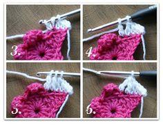 Die Schaubude ---Guter Stoff in Form gebracht---: Häkelsterndecke in der Testphase Crochet Squares, Crochet Motif, Knit Crochet, Crochet Hats, Crochet Ideas, Crochet Stitches Patterns, Stitch Patterns, Quick Crochet, Art N Craft