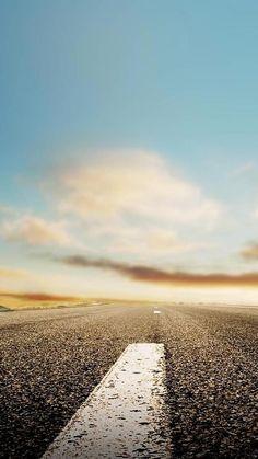Endless Road In SKy #iPhone #6 #wallpaper