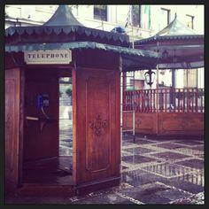 old phone booth.. Venue São Paulo