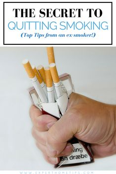 Easy Ways How to Smoking Quit Discovered - how to stop smoking - quit smoke - best way to quit - easy way and tips stopping smoke Ways To Stop Smoking, Quit Smoking Tips, Giving Up Smoking, Quitting Cigarettes, Stop Smoking Cigarettes, Smoking Addiction, Nicotine Addiction, Quit Smoking Motivation, Nicotine Gum