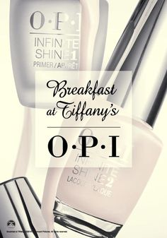 OPI's new Breakfast at Tiffany's collection is now available in OPI GelColor, Infinite Shine and Nail Lacquer, for whichever service your clients desire. This fun holiday collection is inspired by the iconic film, Breakfast at Tiffany's. Let your nails dazzle this holiday season with the exciting and bold shades from #OPIBreakfastAtTiffanys. You'll want to collect them all!