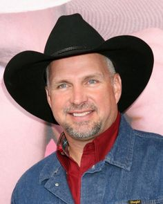 Garth Brooks - Had to put him on this wall he is my 2nd fave. Persdon