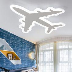 Ultra-mince avions Acrylique led plafonnier pour salon enfants chambre luminaires AC110 ~ 260 V gradation plafond lampe #Ultra-mince, #avions, #Acrylique, #plafonnier, #pour, #salon, #enfants, #chambre, #luminaires, #AC--, #gradation, #plafond, #lampe