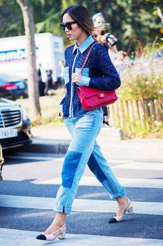 The 2 Shoe Styles Taking Over Every Fashion Girl's Closet via @WhoWhatWearUK