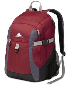 Closeout! 60% Off High Sierra Sportour Laptop Backpack - Red