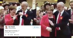 Politician's missed high five is so awkward it'll make you shudder