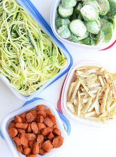 Vegan Meal Prep Ideas | week 1