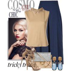 Tricky Trend: Chic Culottes by andrejae on Polyvore featuring Alberta Ferretti, TIBI, Chloé, Marco Bicego, TrickyTrend and culottes