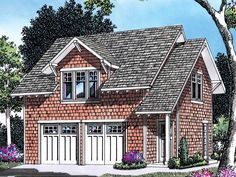 Garage Plan with Apartment Above - 69393AM | 2nd Floor Master Suite, CAD Available, Carriage, PDF | Architectural Designs