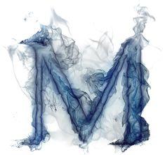 Smoke Wallpaper, Name Wallpaper, Wallpaper Backgrounds, Letras Cool, H Alphabet, M Letter, Light Blue Aesthetic, Minnie Png, Alphabet Wallpaper