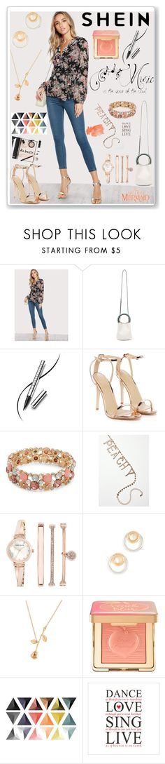 """""""Shein"""" by eldinreham on Polyvore featuring Marni, Prada, Chantecaille, Nasty Gal, Design Lab, Anne Klein, Madewell and Too Faced Cosmetics"""