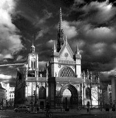 Paris X - Eglise St-Laurent - Boulevard de Sébastopol
