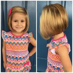 Toddler Stacked Bob Haircut Toddler Bob Haircut Toddler Haircuts Little Girl Haircuts Baby