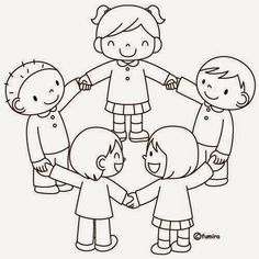 Preschool Coloring Pages, Colouring Pages, Coloring Pages For Kids, Coloring Sheets, Coloring Books, Art Drawings For Kids, Drawing For Kids, Art For Kids, Preschool Friendship