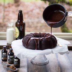 Stout Chocolate Cake with Irish Cream Ganache | Frontier Co-op