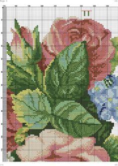 Gallery.ru / Фото #6 - 131 - kento / wiązanka róż,konwalii i hortensji 5