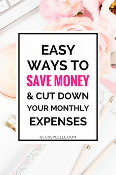 If you have trouble saving money & don't seem to know where your money is going, here are26 ways to save money every day to help cut down your monthly expenses so you have more in the bank at the end of the day. Combining some or all of these together can help you save hundreds or thousands of dollars per year! | saving money | lower monthly expenses | adulting 101 | finances | personal finance | how to save money | budgeting
