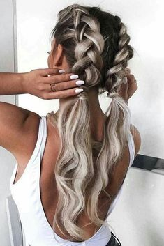 Best Elegant French Braid Hairstyles Best Elegant French Braid Hairstyles Related Best Braided Hairstyles for WomenBeautiful Braid Hairstyles That'll Liven Up Your Hair Routine▷ 1001 + inspirierende Ideen für einfache Flechtfrisuren. French Braid Hairstyles, Long Hairstyles, Pretty Hairstyles, Wedding Hairstyles, Hairstyle Ideas, Hairstyle Braid, Hairstyle Tutorials, Cute Hairstyles With Braids, Birthday Hairstyles