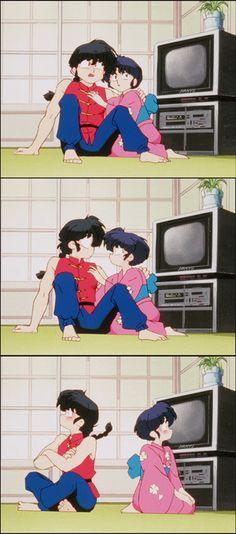 らんま1/2 乱あ_ranma y akane (ranma 1/2) Old Anime, Manga Anime, Anime Art, Cool Anime Pictures, Inuyasha, Manga Story, Aesthetic Anime, Digimon, Ichi
