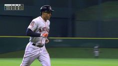 9/20/15: George Springer's (Houston Astros) 14th Home Run (2-Run HR) of 2015 Season @ Houston Astros.