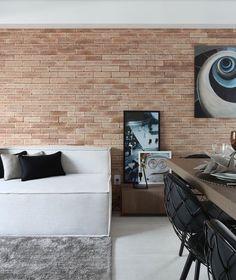 Rústico, porém moderno! Ultra descolado o espaço!  ❥Hobby&Decor | Instagram.com/hobbydecor | #hobbydecor #decor #arquitetura #design #arte