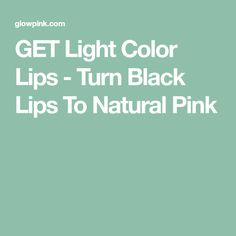 I personally tried this, How To Transform Dark Lips Into Rosy Pink Lips at home Natural Pink Lips, Natural Skin Care, Glowy Skin, Dark Skin, Face Care, Body Care, Makeup Order, Rosy Pink, Black Lips