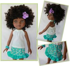 Sunny Days Skirt and Top H4H Dolls  Still looking for this doll...then I can make this outfit for her. LOL!