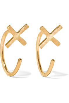 Melissa Joy Manning | 14-karat gold earrings | NET-A-PORTER.COM