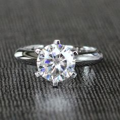 Find More Rings Information about 1.5 Carat ct F Color Engagement Wedding Lab…